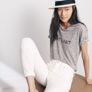 3/$30Madewell graphic tee Tout A Fait (Absolutely)